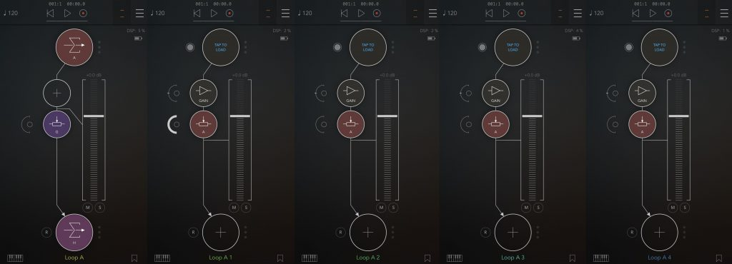 SAXLOOPS TUTORIAL AUM GROUP iOS music